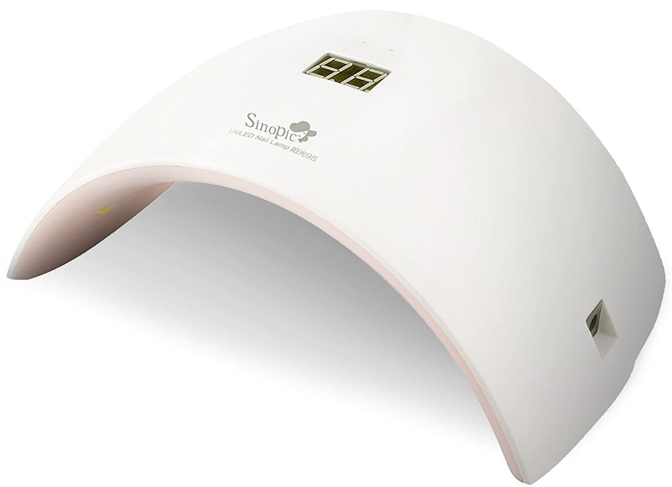 アトムアレキサンダーグラハムベルアセSinopic ネイルドライヤー 硬化ライト 自動センサ式 UV+ LEDライト 24W ジェルネイル マニキュアゲル 赤外線感知 品番:9S