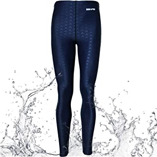 VANPIE Unisex Rash Guard Pants Long Swim Leggings UV Protective Basic Pants Swimwear Wetsuit for Scuba Diving Canoeing