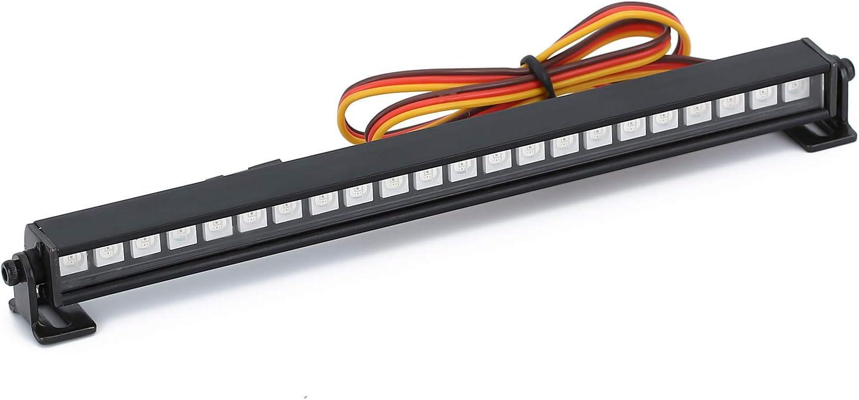 INJORA RC LED Light Bar 22LED Multi-Mode C for Lamp Roof 1 10 Regular store Finally resale start