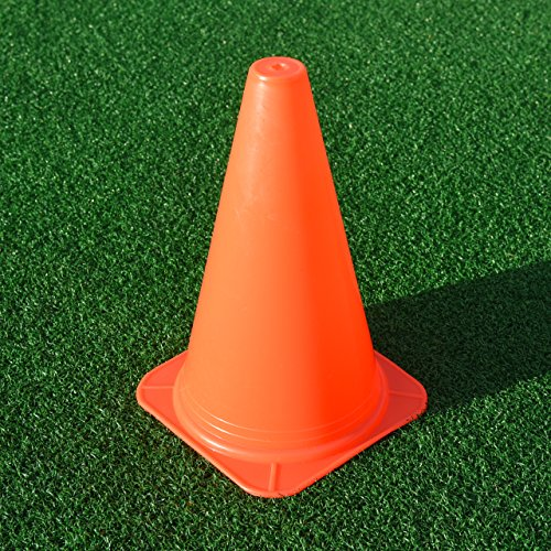 FORZA Training Markierungshütchen (10er-Set) – Fußballtraining Markierungsteller – 3 Größen erhältlich (30cm)