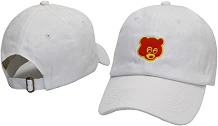 99abbff3 TOODOO Kanye West Embroidered Dropout Bear Dad Hat adjustable Baseball Cap
