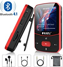 Clip Mp3 Player with Bluetooth 4.1, 8GB Lossless Sound Music Player with FM Radio Voice..