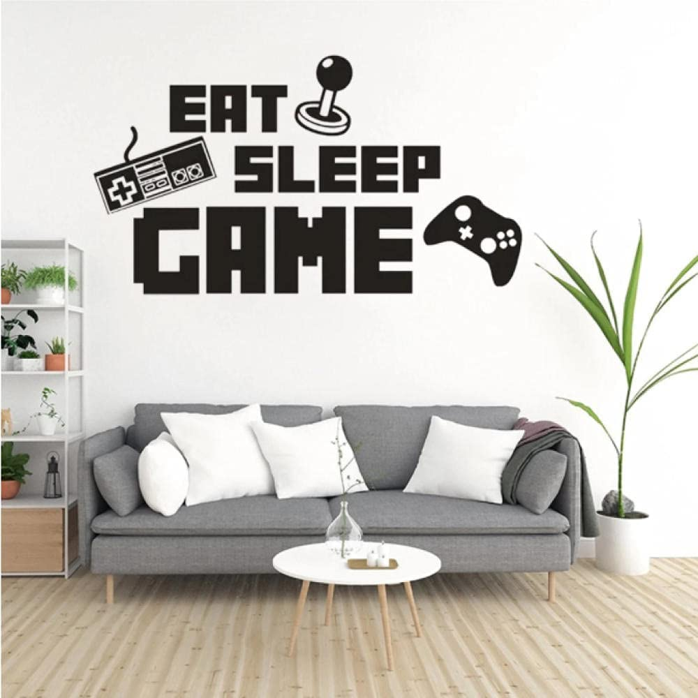 Selling rankings Wall Stickers Papers Home Eat Letters Sleep Bombing new work Game Vinyl