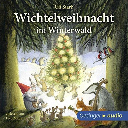 Wichtelweihnacht im Winterwald audiobook cover art