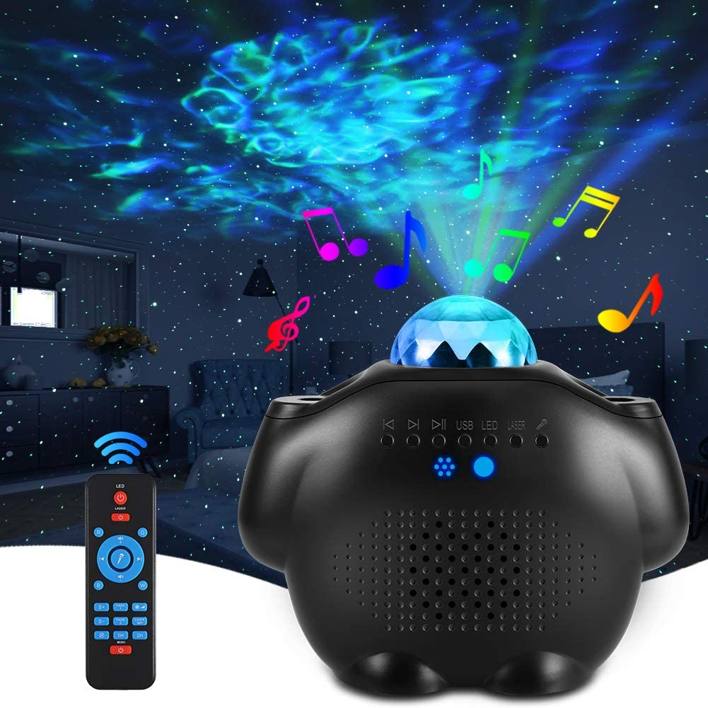 ALOVECO Star Projector Night Light Galaxy Speaker Bluetooth Lowest Dallas Mall price challenge with