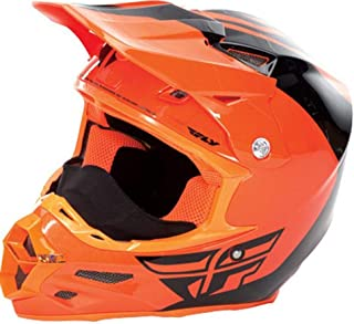 Fly 2016 Adult F2 Carbon Pure Cold Weather Snowmobile Helmet Orange Size S