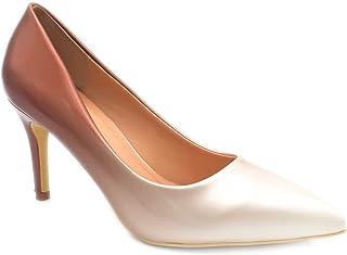 9a4c7cac95e273 Escarpin Femme Vernis - Chaussure Escarpin Dégradées Talon Fin - Talon  Moyen Sexy Hauteur 5CM 8CM