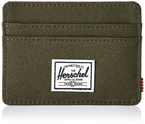 Herschel Supply Charlie Billetera, Bosque Noche RFID, Talla única para Hombre