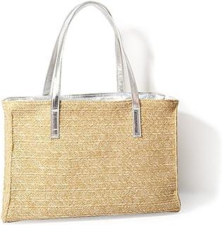 Hoxis Damen Handtasche mit Henkel aus Kunstleder, für Urlaub und Strand