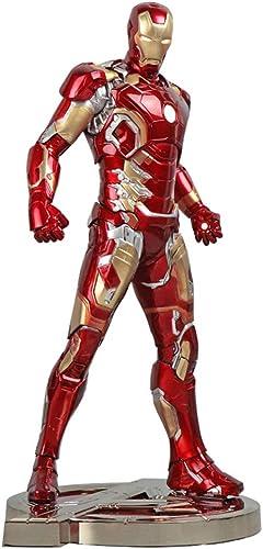 YONG FEI Modèle de poupée Figurine Iron Man MK43-12 '' Jouet Marvel Avengers, modèle Super héros , PVC Boutique
