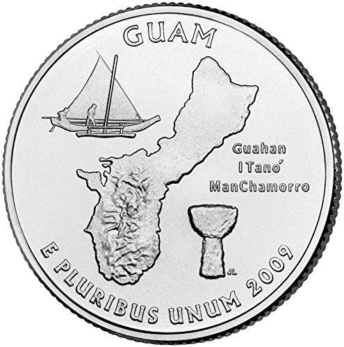 2009 D Guam State Quarter Choice Uncirculated