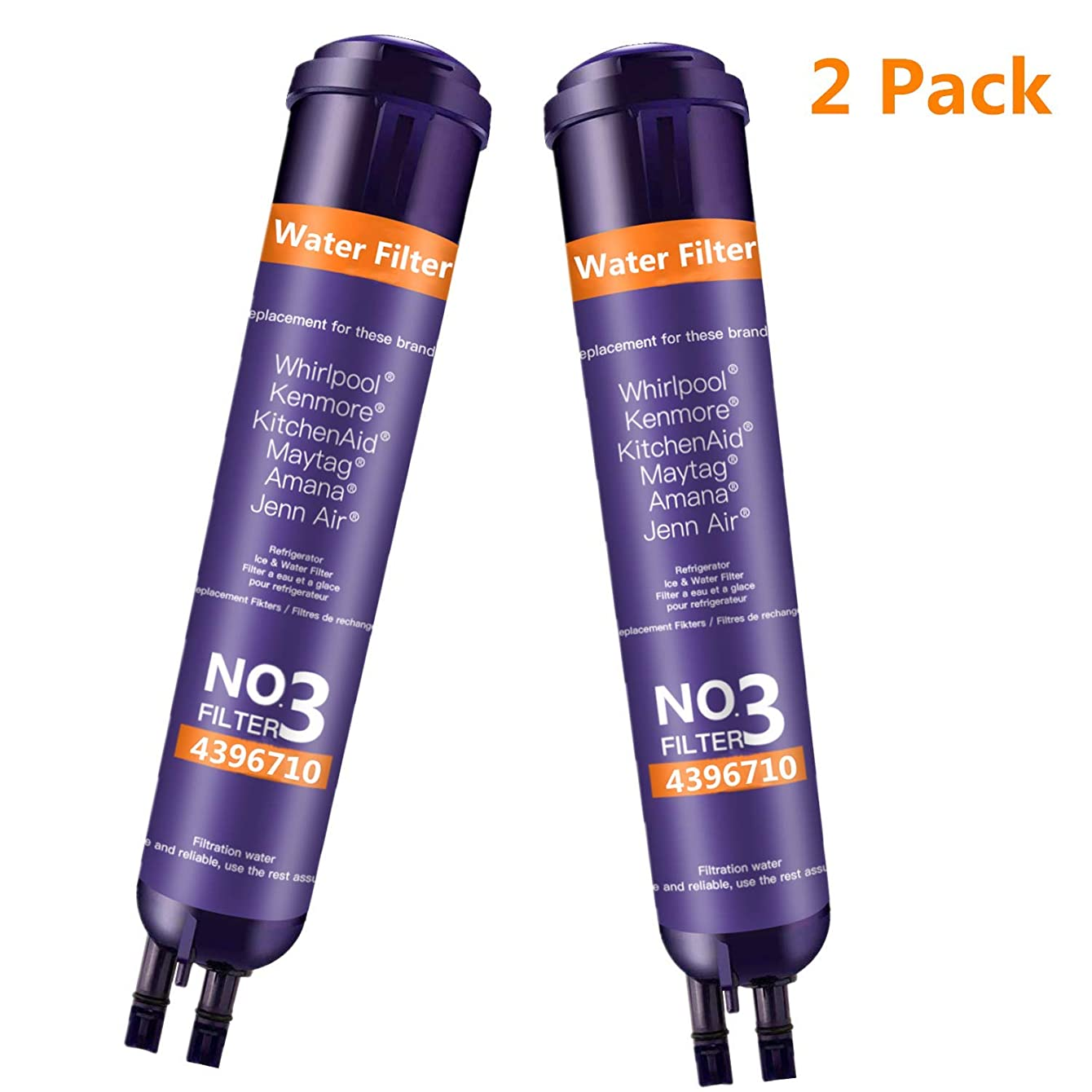 BOYTY Refrigerator Water Filter 9030 Replacement Ken-More 46/9083 9083 46/9030 9030 46/9020 Refrigerator Water Filter Purple(2 Pack)