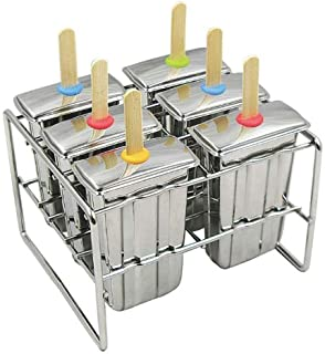 Onyx POP004 Stainless Steel Popsicle Mold