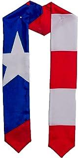 Puerto Rico Puerto Rican flag graduation sash/stole/scarf