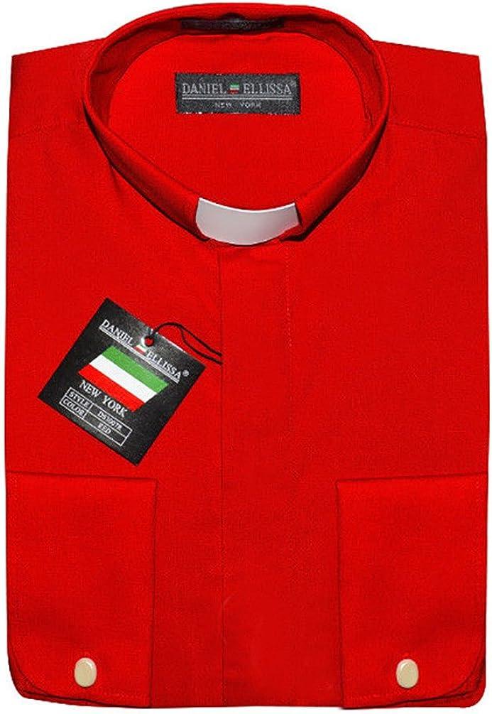 Daniel Ellissa Clergy Dress Shirt French Cuff Tab Collar & Cuff Links