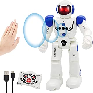 Vindany Inteligente RC Robot Juguete Control Remoto Gesto Robot Kit con programación Intelectual, Cantando y Bailando Robo...