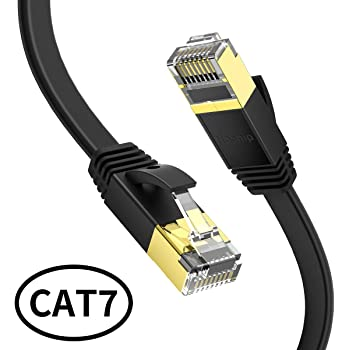 Home Ethernet Cable Game Network Cable Ethernet Cable Cat7 LAN Cable STP RJ 45 Network Cable RJ45 Patch Cord //15m//20m//30m for Router Laptop Ethernet Cable Waterproof Cable