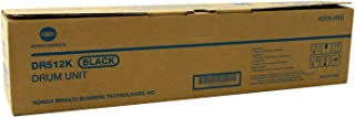Konica Minolta DR-512K 120K Page Yield Black Drum Unit for Bizhub C364 C454 C554 A2XN0RD