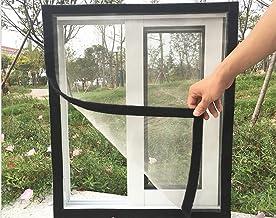 BASHI Raambescherming gaas voor kat, transparante veiligheidsnet, raamgaas met zelfklevende tape, anti-muggenvenster insec...