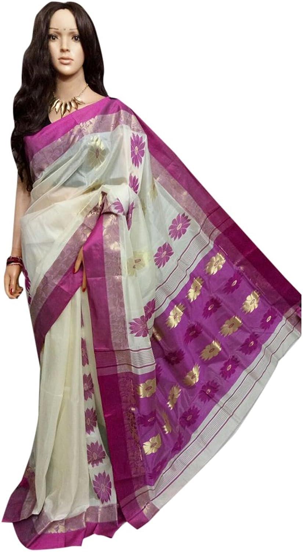 Traditional Handoom Tussar Silk Saree Full weaving work by weavers Bengal Women sari Indian Ethnic Festive saree 106 3