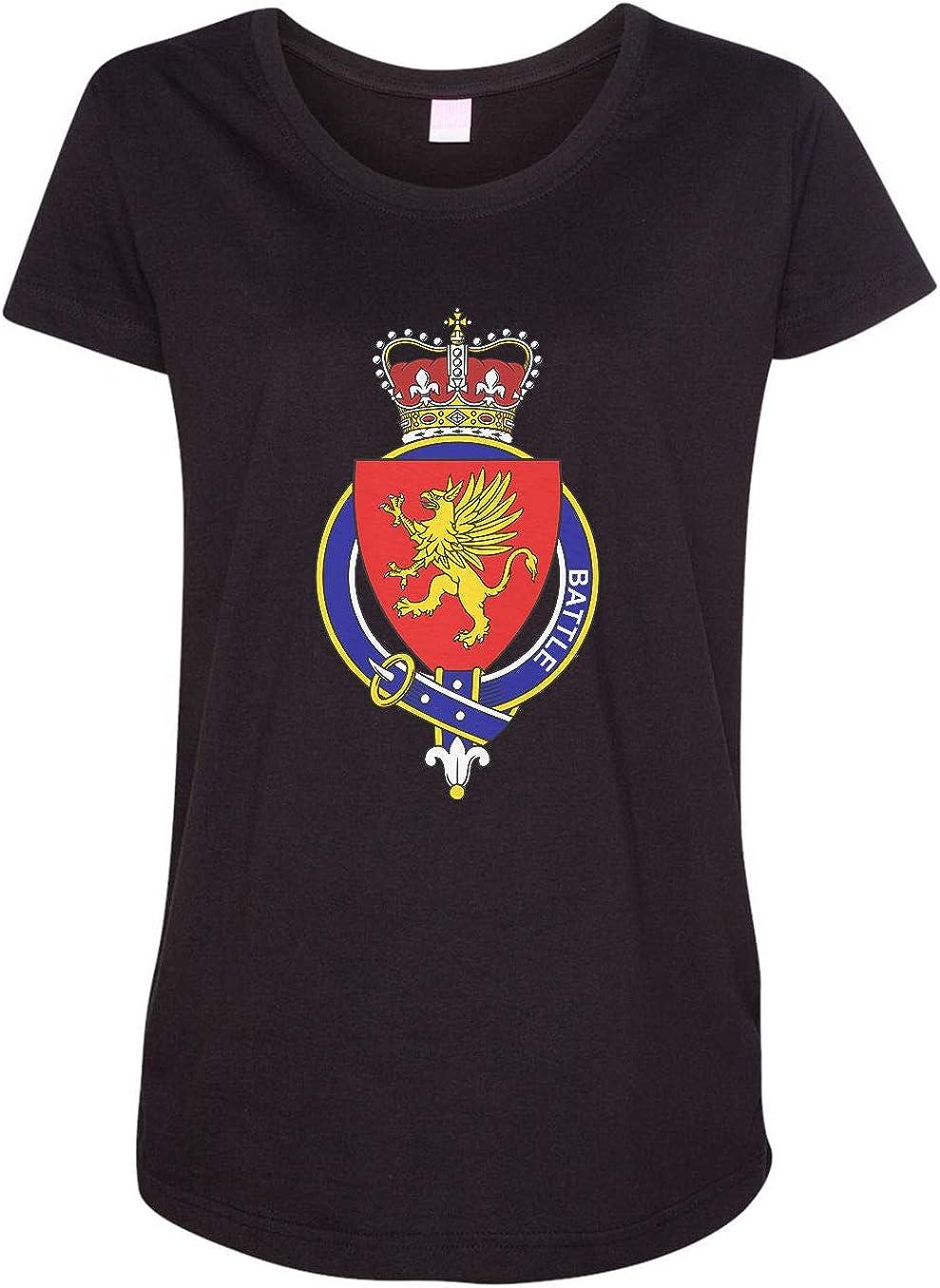 HARD EDGE DESIGN Women's Scottish Garter Family Battle T-Shirt