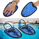 Zyyini Professionelle Schwimmtraining Paddel Handpaddel Power Paddel Schwimmtraining Hilfsmittel Große Flache Paddel Tauchausrüstung für Männer Frauen Kinder(# 4)