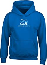 Why Yes I Am One They Call Clare First Name Gift - Adult Hoodie 3xl Royal