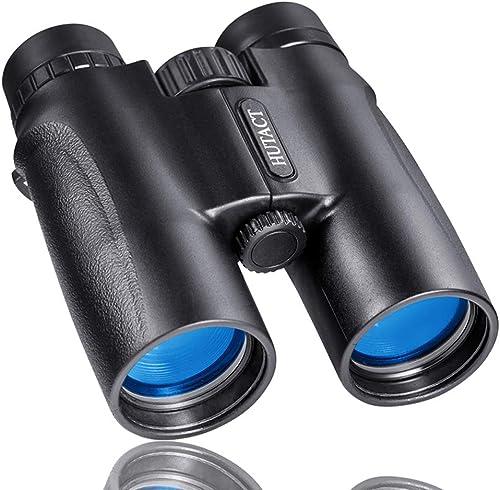LGPNB Jumelles Jumelles Grand-Angle HD à Fort grossisseHommest HD Zoom extérieur avec caméra Optique Etanche Pliante Randonnée en Plein air Prise de Vue Tourisme Visite guidée Télescope de Chasse