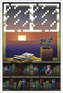 Best minecraft creeper window video game poster Reviews