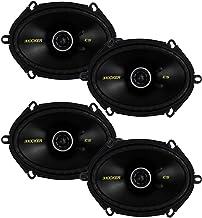 KICKER 4 New 40CS684 6x8 450W 2 Way Car Coaxial Speakers Stereo Audio CS684 photo