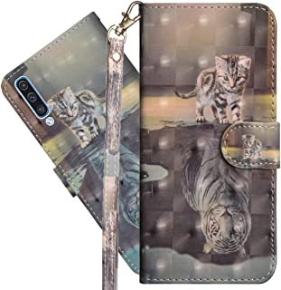 COTDINFORCA Samsung Galaxy A30S Wallet Case, Galaxy A50S Case Premium PU Leather 3D Creative Painted Effect Design Full-Bo...