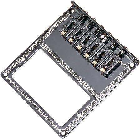 TLタイプ ブリッジ / #N/A ローラーサドルブリッジHumbuckers TLエレキギター用マウントアクセサリーブラック