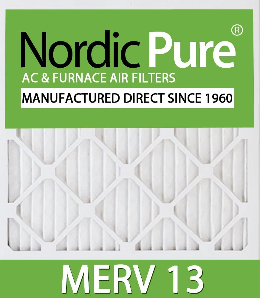 Nordic Pure 10x18x1ExactCustomM13-12 MERV Filters Indefinitely Furnace 13 AC Baltimore Mall