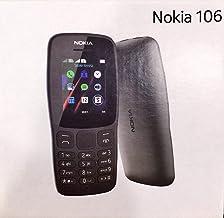 Nokia 106 Dual Sim BLACK, Original Nokia Mobile NEW