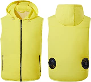 Cooling Fan Vest USB Summer Cooling Clothes Air Conditioning Clothing Hiking Fishing Shift Camping Running Jacket No Power...