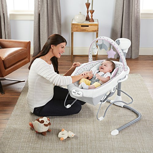 61KVQD1jRDL 10 Best Portable Baby Swings on the Market 2021 Review
