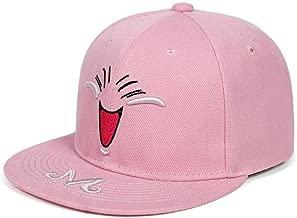 SJZX Baseball Cap New Embroidery Cap Smiley Face Snapback Baseball Caps Hip Hop Street Hat Fashion Street Dance Hats