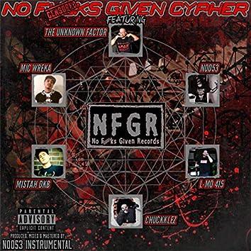 No Fucks Given Cypher (feat. N0053, Chuckklez, L-Mo 415 & Mic Wreka)
