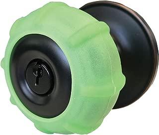 New Enjoy Cover -Neon Green Silicone Door knob Grips Soft Glow Maximum Grip - Arthritis & Senior Living Aids Grippy Easy Open Fits All Door Knob Universal Size Decorative Lifetime Warranty 4 Pack