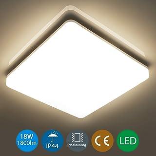 18W LED Panel Aufputzlampe Deckenlampe Wandleuchte Badleuchte Rund Neutralweiß