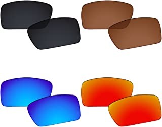 4 Pairs Polarized Replacement Lenses for Oakley Gascan Pack P02