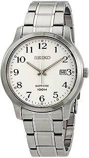 Sapphire Glass Silver Dial Men's Watch SGEH67