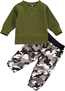 Toddler Baby Boy 2PCS Fall Winter Clothes Long Sleeve...
