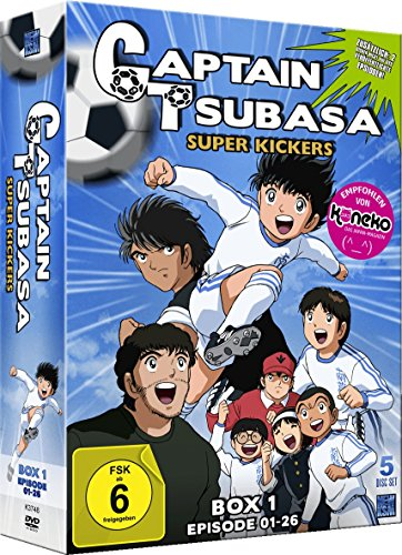 Captain Tsubasa: Super Kickers - Box 1: Episoden 1-26 (5 DVDs)
