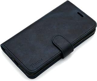HTC U11 Case, HTC Ocean Case,Tisuns HTC U11 Case, HTC Ocean Leather Case, Flip Folio Book Case, Money Pouch Wallet Cover with Kick Stand for HTC U11 / Ocean Royal Blue 4344523047