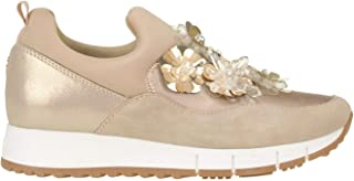 LIU JO Luxury Fashion Womens MCGLCAK0000B7054E Beige Sneakers | Season Outlet