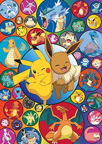Buffalo Games - Pokémon Bubble - 500 Piece Jigsaw Puzzle