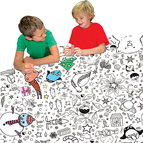 Colour-in Tablecloth - Christmas (TC04)