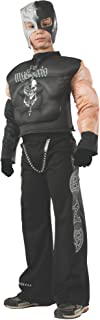 Rubies WWE Deluxe Muscle-Chest Rey Mysterio Costume, Child Small