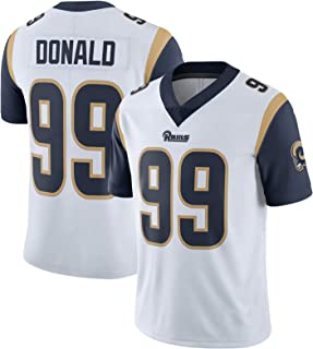 VF LSG Men's Youth Aaron- Donald Los Angeles Rams Blue Simple Loose Jersey